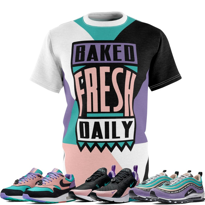 d3f3591b Nike Air Max Have A Nike Day Sneaker Match T-Shirt ColorBlock | Etsy
