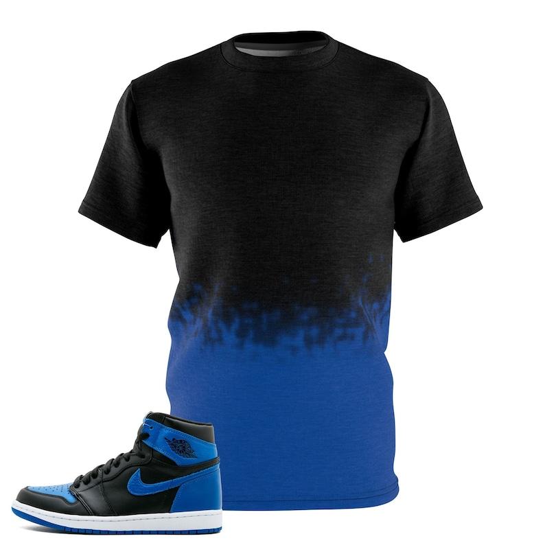 fb4474d36ab79 Jordan Sneakermatch Tee, Sneaker Match Shirt, Match Jordan 1 Royal  Sneakertee Faded V3 Shirt By Gourmetkickz,Cut&Sew
