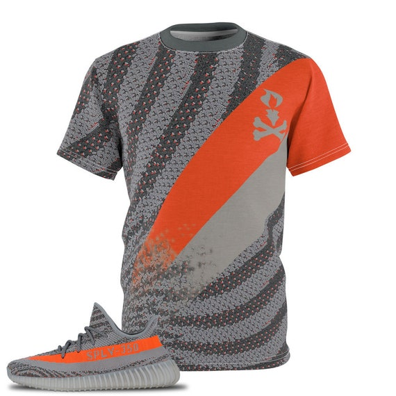 save off caae4 08ca0 Yeezy Boost 350 v2 Beluga Sneaker Match T-Shirt by Chef V3,Cut&Sew