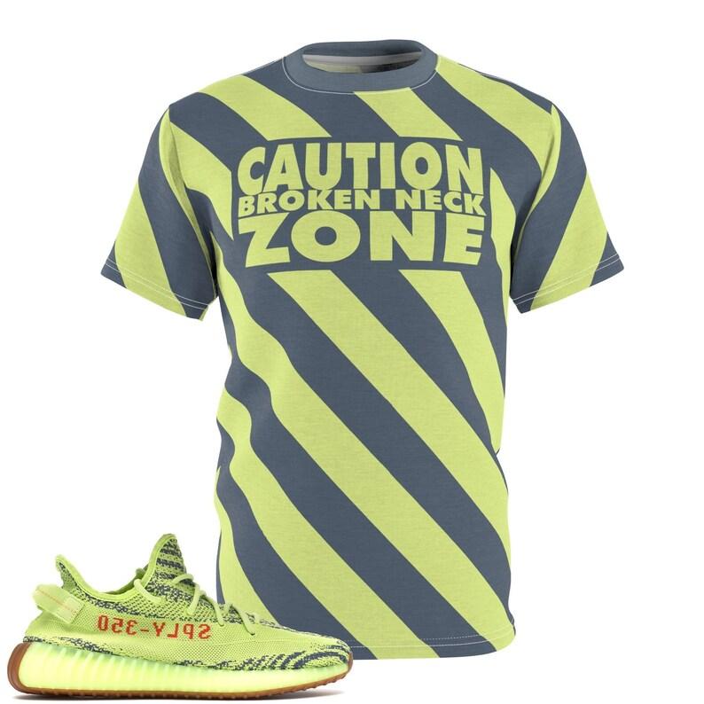 d85ba8c2 Yeezy Boost 350 V2 Semi Frozen Yellow T-Shirt Frozen Yellow   Etsy