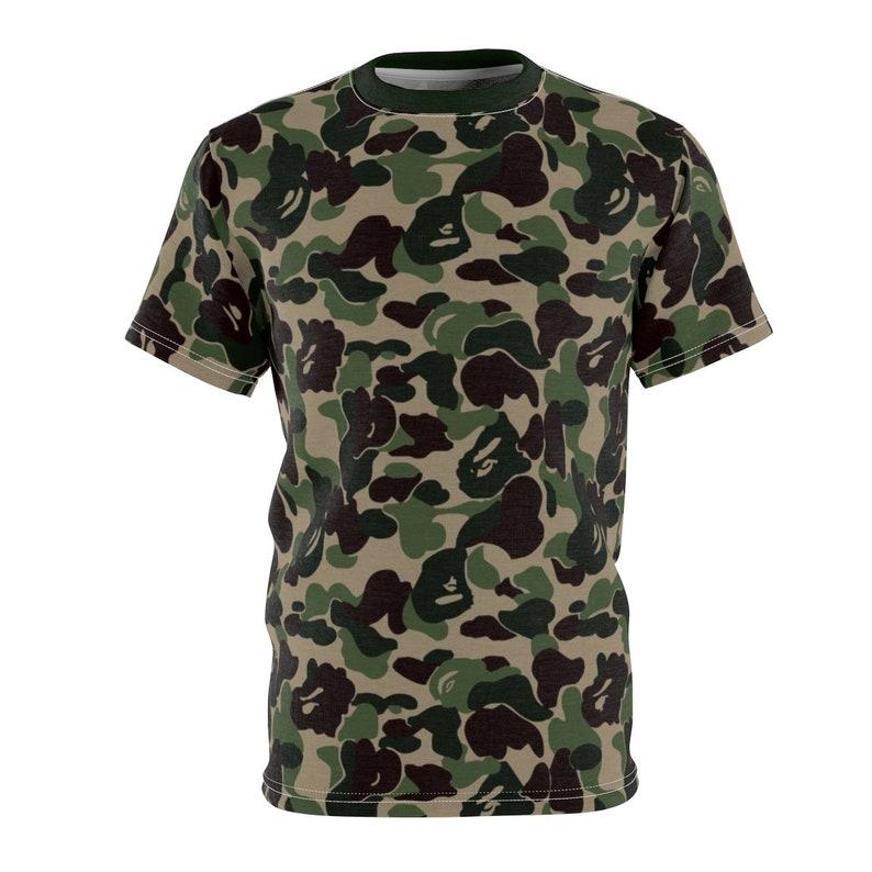 38a37f927 Match Bape X Adidas Nmd Camo T-ShirtCut Sew
