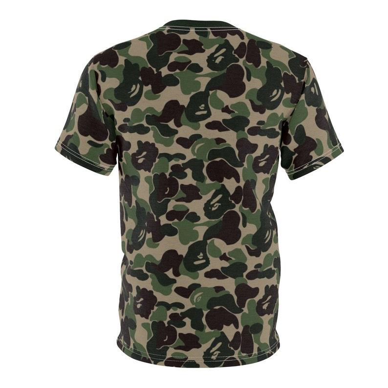 073e95e68f217 Match Bape X Adidas Nmd Camo T-ShirtCut Sew