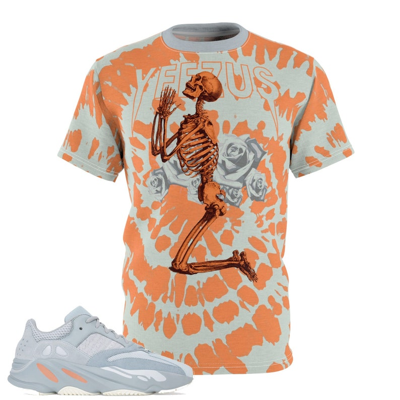 ca135948f3504 Yeezy Boost 700 Inertia All Over Print Sneaker Match T-Shirt, Yeezy Boost  Inertia Shirt, Yeezy 700 Inertia T-Shirt, Cut&Sew Yeezus V1