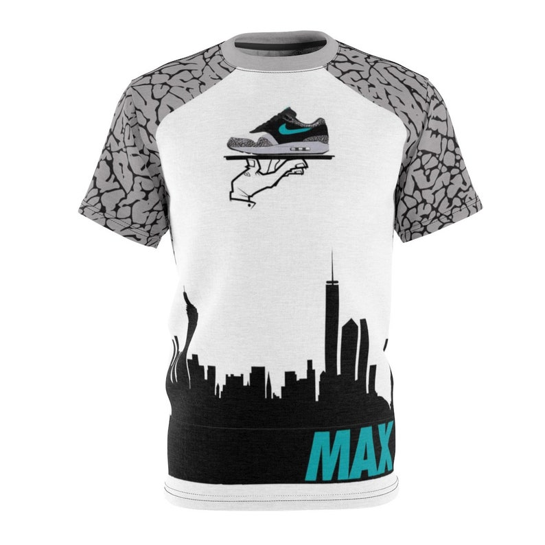 01a7b370b2bde Atmos Air Max 1 Match T-Shirt Atmos Over Nyc V1,Cut&Sew