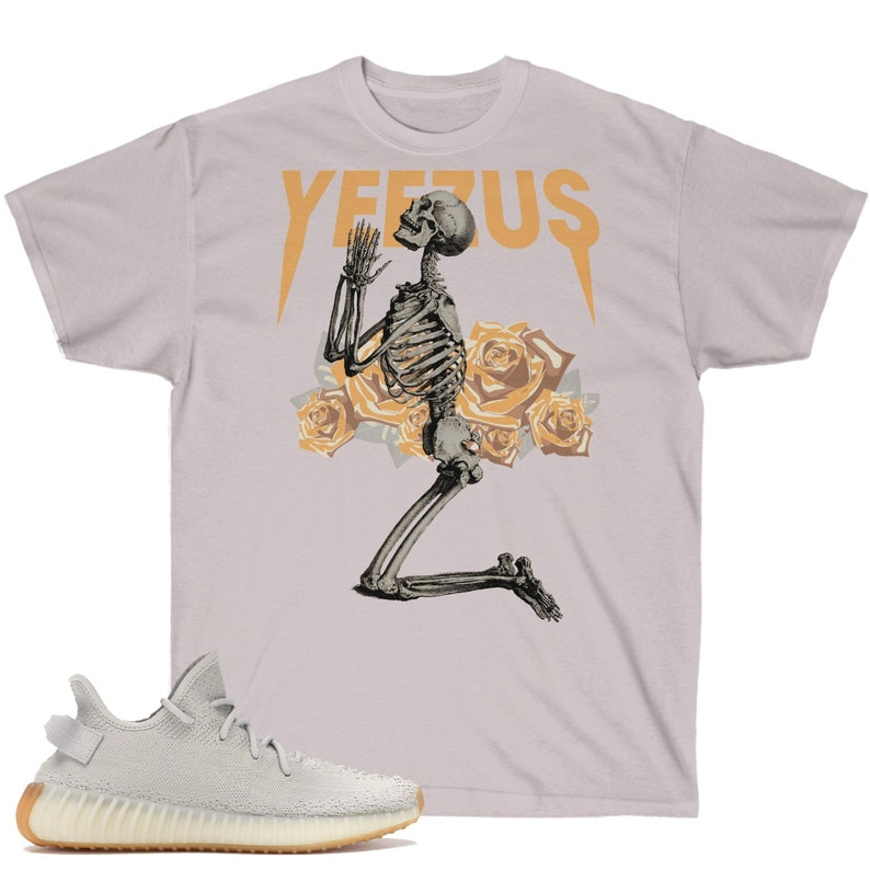 edc8fe20615ef Yeezy Boost 350 V2 Sesame Sneaker Match T-Shirt, Yeezus God Wants You  Inspired Graphic Shirt, TLOP, Yeezy Supply, Pablo Supply, Gildan