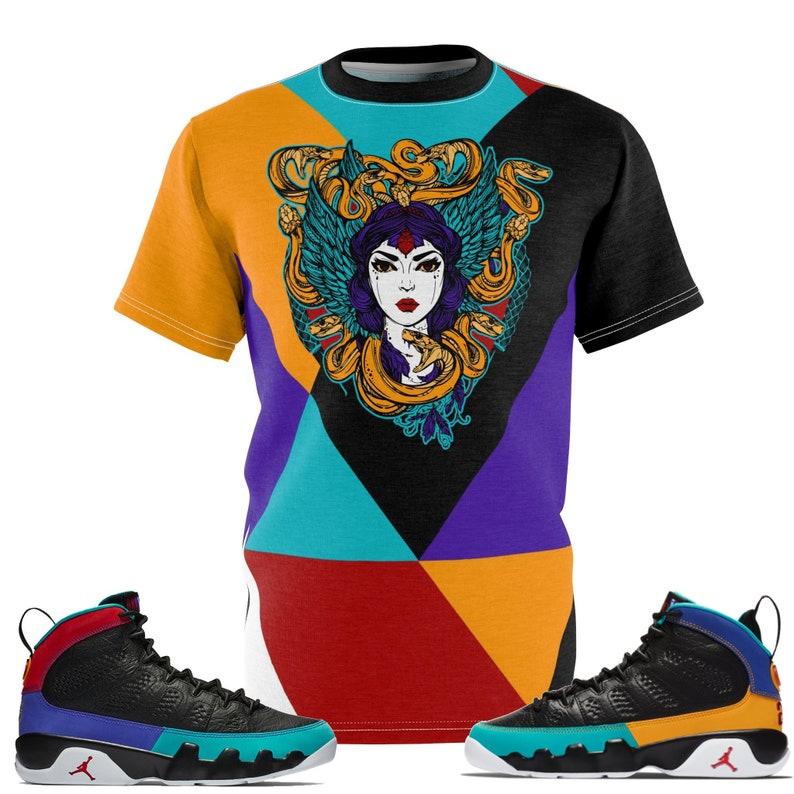 391f22617031 Jordan 9 Dream It Do It Sneaker Match Colorblock Medusa