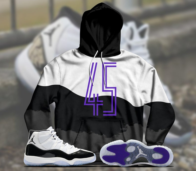 newest collection 6ba6a 2ad0f Jordan 11 Retro Concord 2018 Hoodie, Jordan 11 Concord Hoodie, Jordan  Concord Hoodie, Concord Hoodie, Jordan Hoodie, THE 45 Hoodie