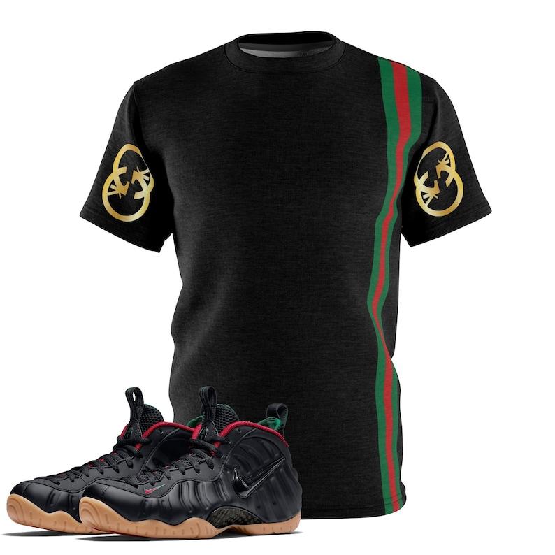 d4e2db061e4 Black Gucci Foamposite Shirt Foamposite Tee Foamposite