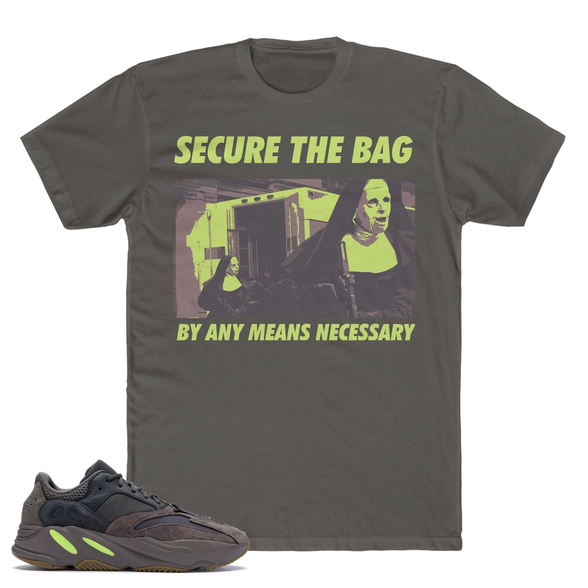 e73cf8869119da Mauve Yeezy Boost 700 T-Shirt Secure The Bag Shirt Yeezy