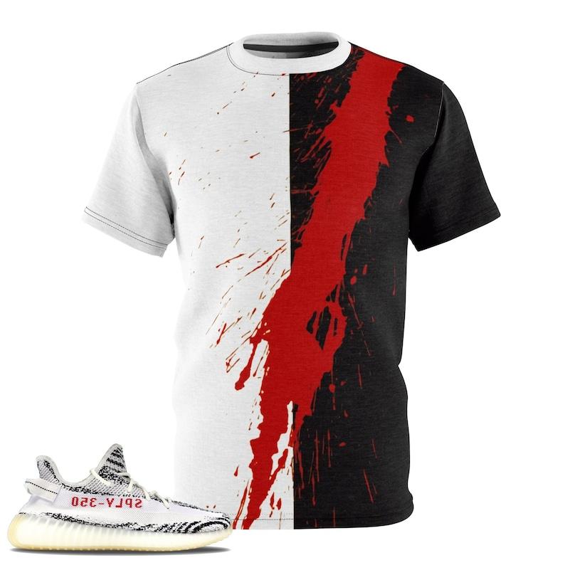 wholesale dealer 7c228 c8e95 The Slash TShirt For The Yeezy Boost 350 V2 Zebra   Etsy