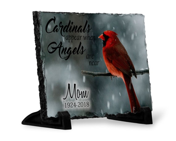 Sympathy Gift For Loss Cardinals Appear When Angels Are Near Etsy