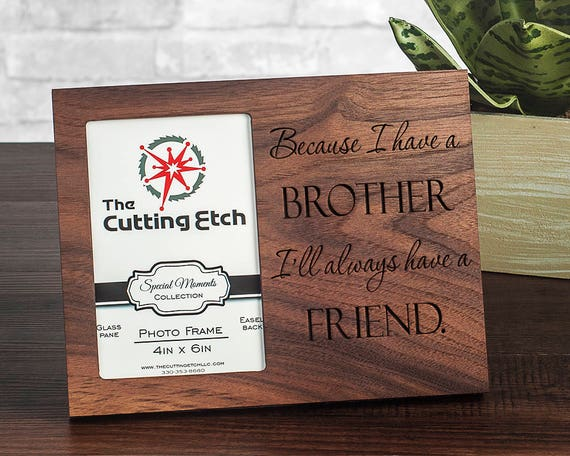 Personalized Brother Gift Ideas Brother Picture Frames For Etsy