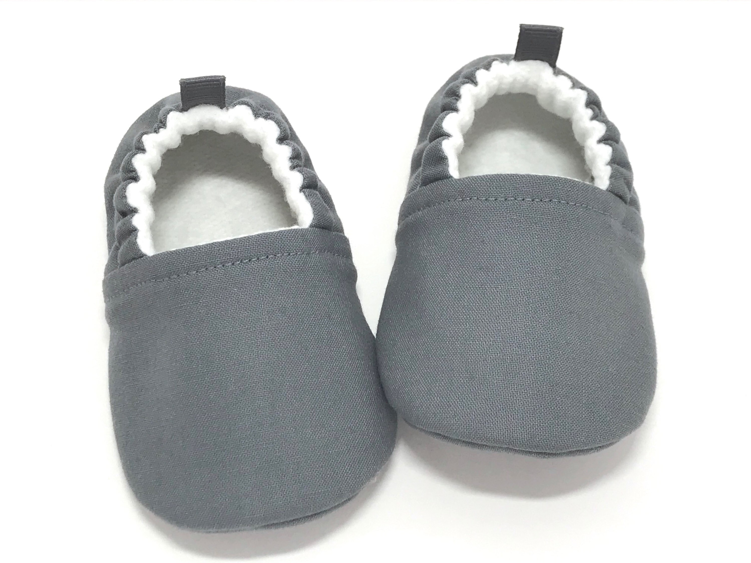Gray Baby Shoes Grey baby booties baby moccasins Baby  aa60b64e4