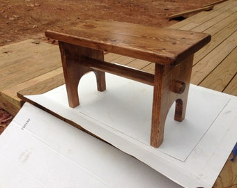 Solid Pine Bench. Great for entry way or anywhere in the house