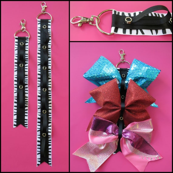 bow organizer Hair Bow Holder cheer bow hair accessories storage wall display