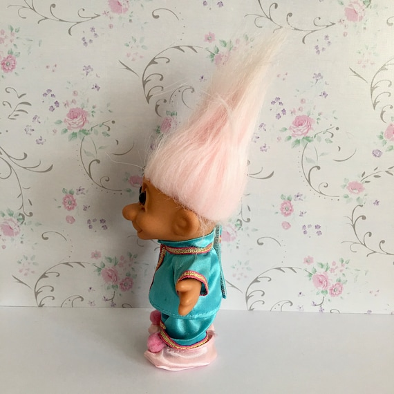 "GARDENING GIRL 5/"" Russ Troll Doll NEW IN ORIGINAL WRAPPER GARDENER"