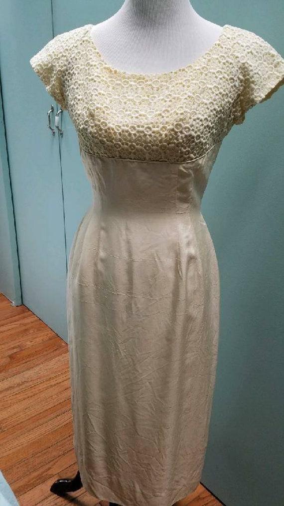 Vintage Wiggle Dress (S)