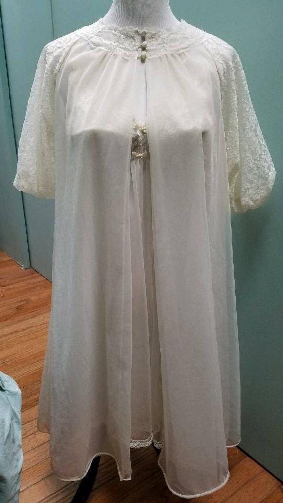 Vintage Negligee Wedding Set (S)