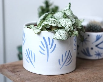 Medium Ceramic Planter- 'Sapling'