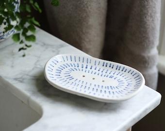 Ceramic Soap Dish -'Lacuna'