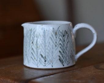 Ceramic Cream/Milk Jug- 'Rye'