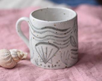 Ceramic Mug - 'Rockpools'