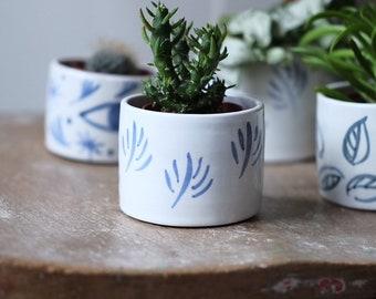 Small Ceramic Planter- 'Sapling'