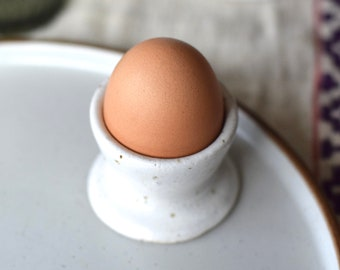 Ceramic Egg Cup - Speckled