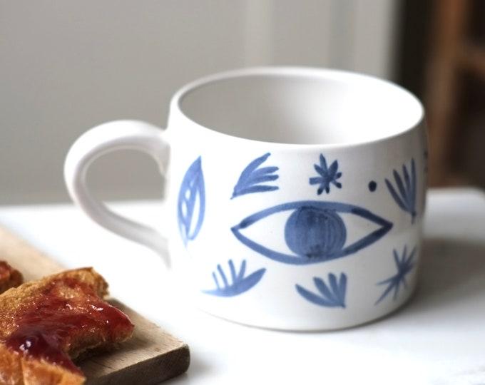 Featured listing image: Large Ceramic Mug-   'Tide Mills'
