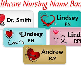 More Colours Healthcare Staff Name Badge