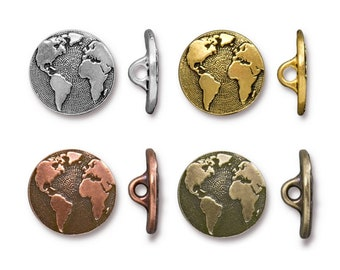 TierraCast Bright Rhodium Click for Bulk Discounts Bright Gold or Brass Ox Plated Pewter Smooth Pinch Bail