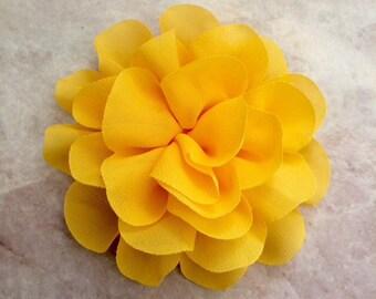 Yellow Large Flower Etsy