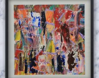 Abstract II-I - Original Painting