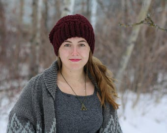 Crochet Chunky Shell Hat