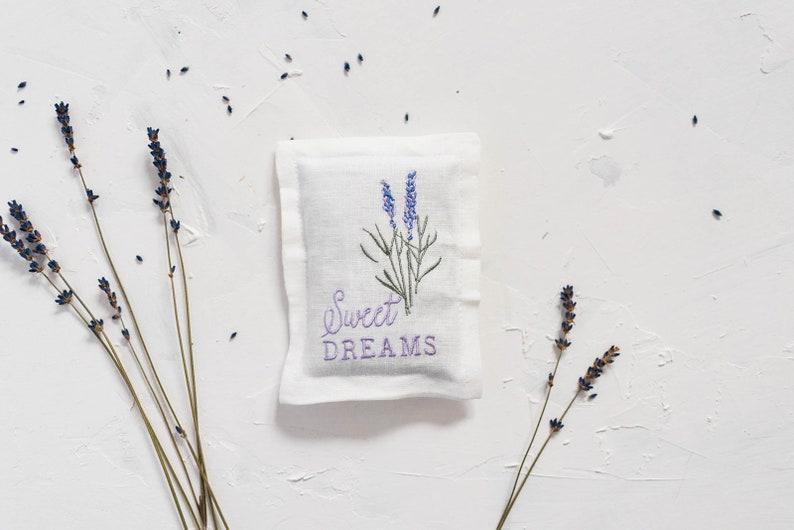 Lavender Sleep Pillow Lavender Gifts Sweet Dreams  image 1