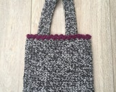 Handmade Fully Lined Crochet Bag (Free P&P)