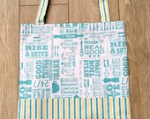 Hand Stitched Re-usable Shopping Bag (Free P&P)