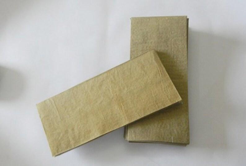 50 Brown Kraft Envelope Business Card Gift Personalized money envelopes  cash gift envelope wedding Invitation Light Weight Brown Paper Bag