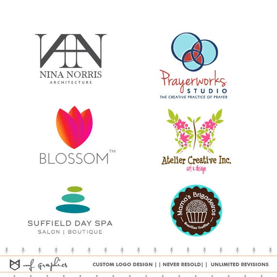 Custom Logo Design Business Logo Custom Logo Business Etsy