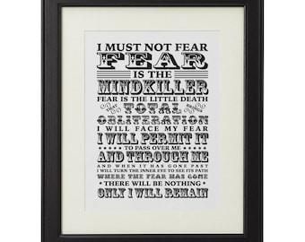 litany against fear scroll sham store u2022 rh sham store