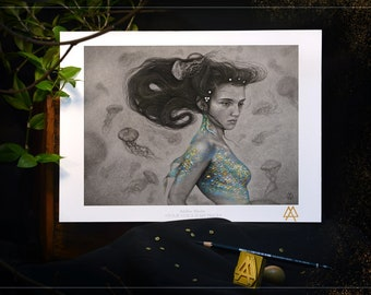 A4 Art Draw: Your Voice is my Price - Stamped and signed print