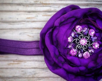 Plum Perfect Girls Purple Headband