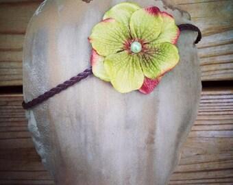 Hydrandgea Halo Headband