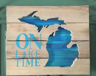FREE SHIP On Lake Time