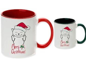 Merry F/'n christmas bad santa ornament flipping bird middle finger