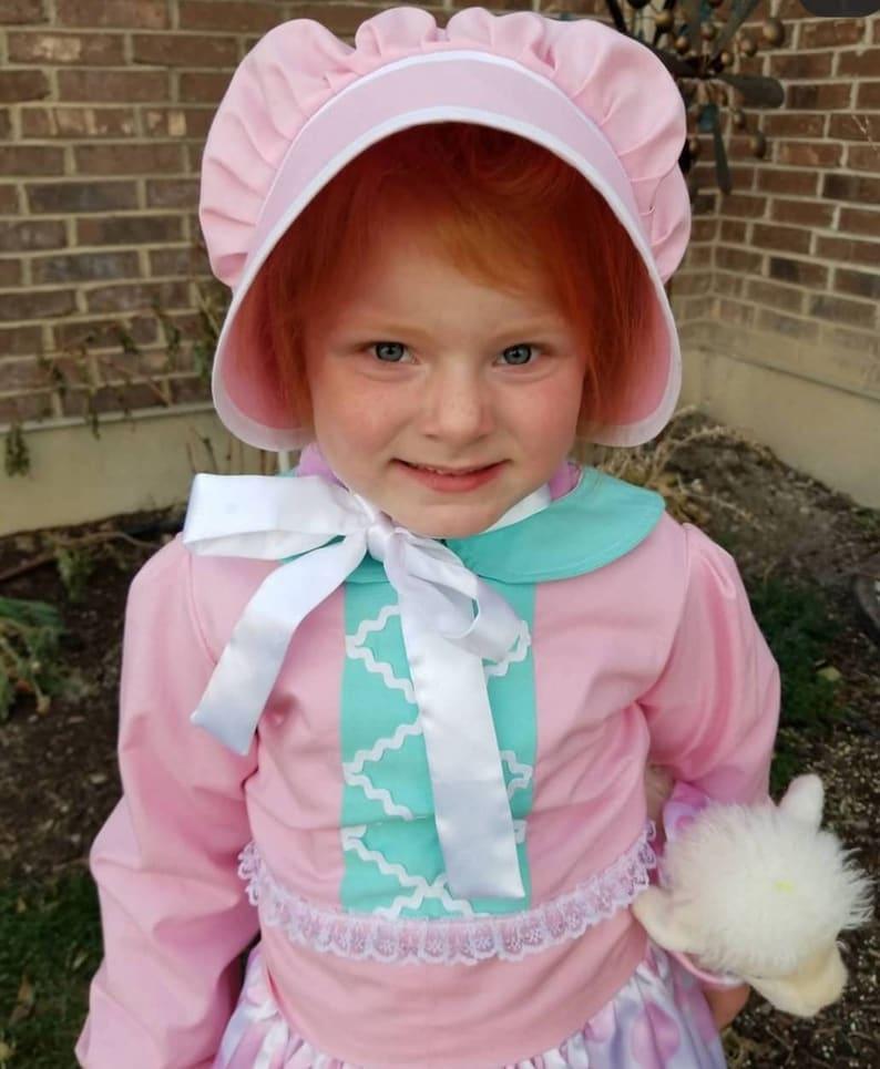 Toy Story Little Bo Peep Inspired Costume Bonnet Toy Story ...