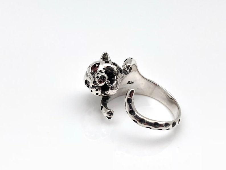 Sterling Silver Garnet Ring Gemstone Large Square Round Size 5 6 7 8 9 10 11