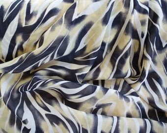 Animal Print Fabric by the Yard, Wide Goods, Rayon Poly Blend Yardage, Fabric Yardage, Yardage, Wide Goods