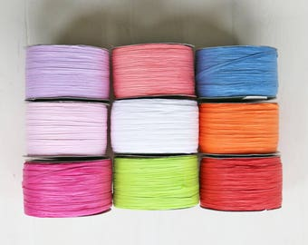Paper Ribbon | Raffia Paper Twine for Gift Wrap & Craft {12 colours}