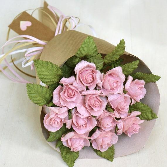 Papier Geburtstag Blumenstrauss 1 Jahrestagsgeschenk Etsy